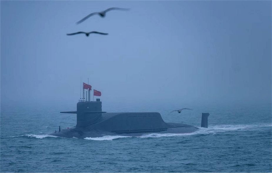 Chinese People's Liberation Army Navy Receives Two Jin-Class Nuclear Powered Submarines