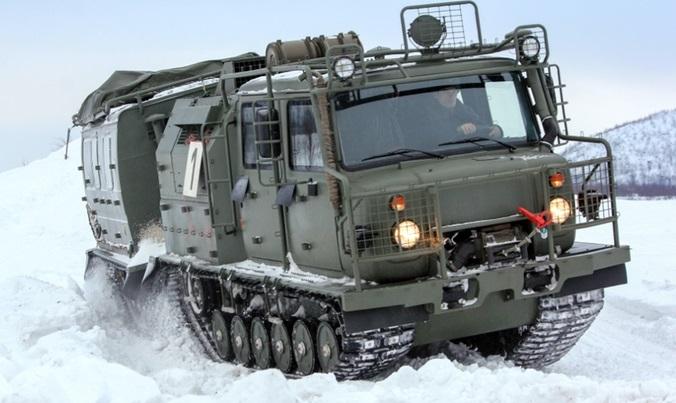 GAZ-3344-20 Aleut Articulated All-terrain Vehicle (ATV)