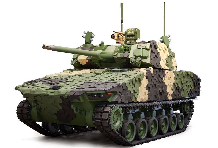 General Dynamics Griffin III Candidate to Replace M2 Bradley Infantry Fighting Vehicle