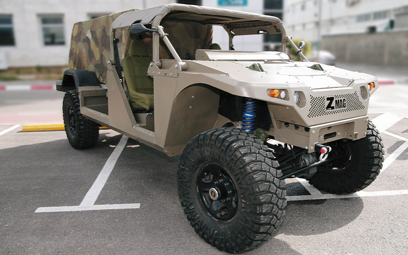 Ido Cohen Zmag off-road vehicle