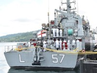 Indian Navy Commissions IN LCU L57 Landing Craft Utility