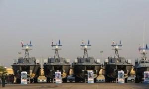 Iran's Revolutionary Guards Receive 112 Fast Boats