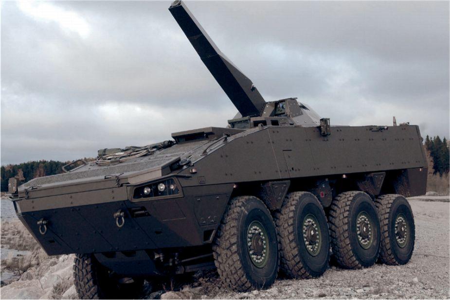Patria Nemo 120 mm Mortar System