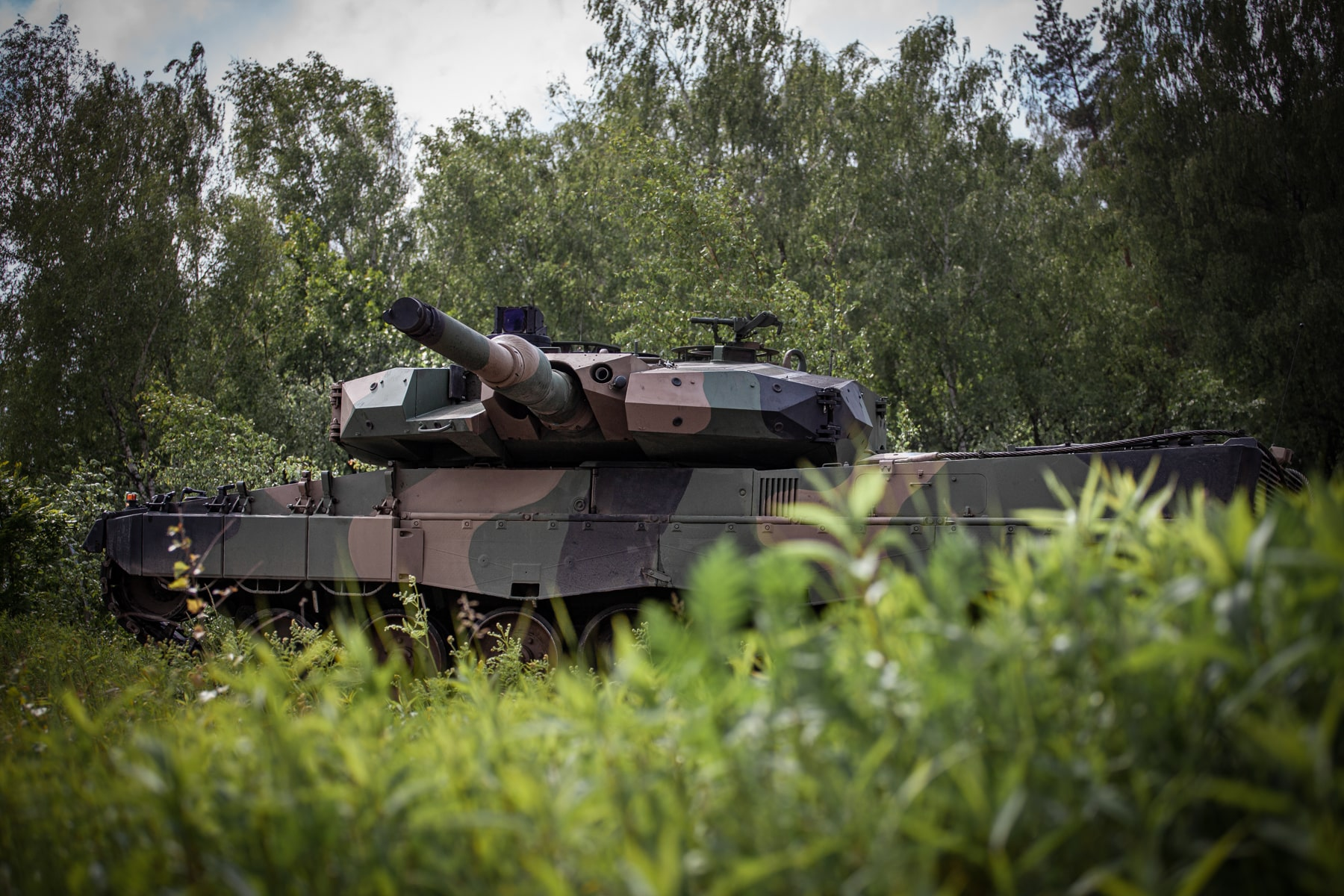 Polish Army Upgraded Leopard 2PL Main Battle Tanks