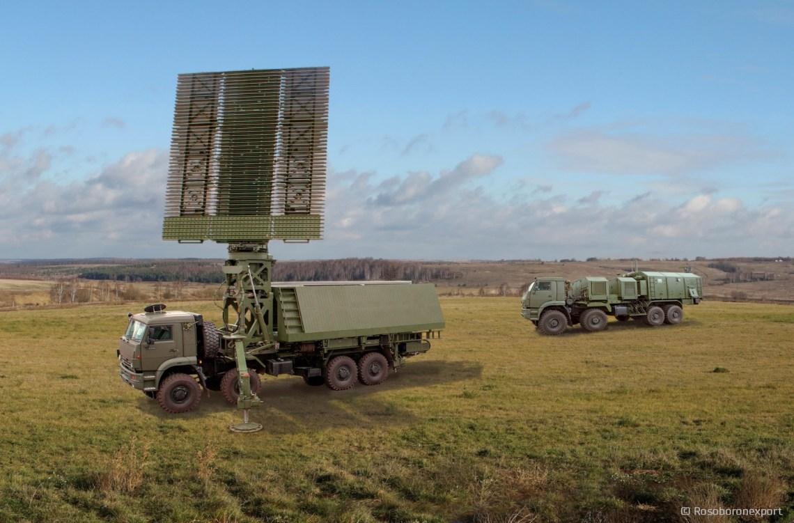 NNIIRT 59N6-TE mobile three-dimensional station