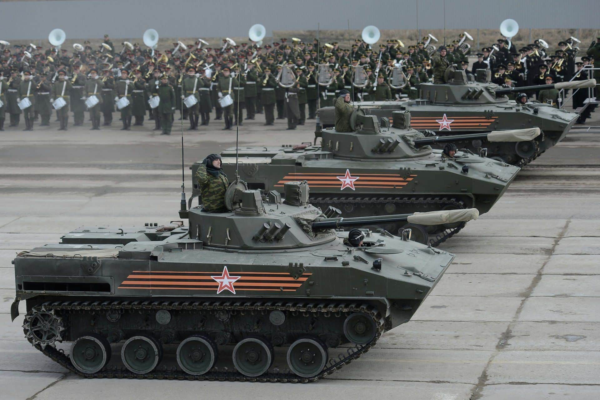 Russia's Airborne Troops to Receive Two Additional BMD-4M Battalions