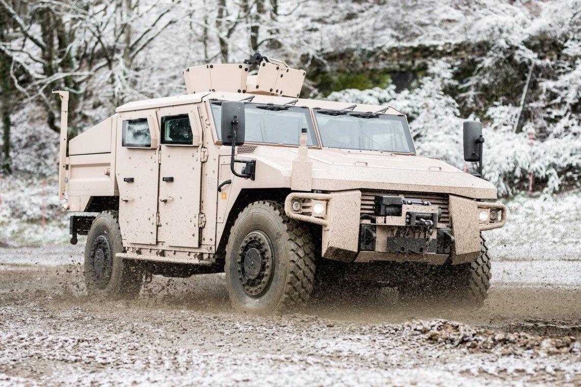 Sherpa Armored Vehicle