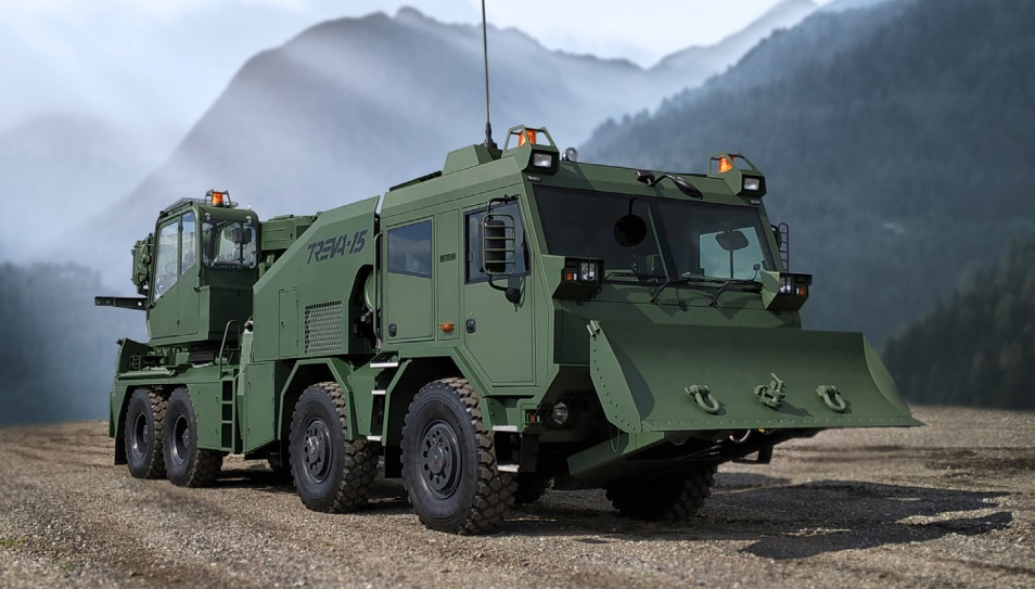 TREVA-15 Tactical Recovery and Evacuation Vehicle