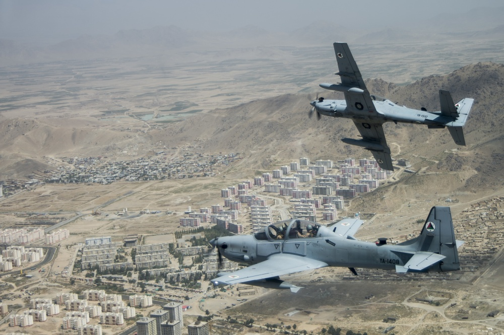US Air Force and Sierra Nevada Corp Add Aircraft to AFSOC A-29 Acquisition
