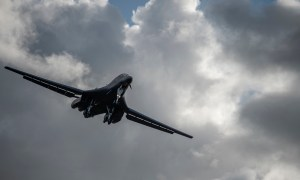 US Air Force B-1B Lancers Return to Guam After Training Mission in East China Sea