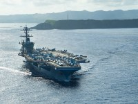USS Theodore Roosevelt Returns to Sea