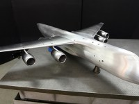 Zhukovsky Central Aerohydrodynamic Institute Tests Slon Heavy Aircraft Model
