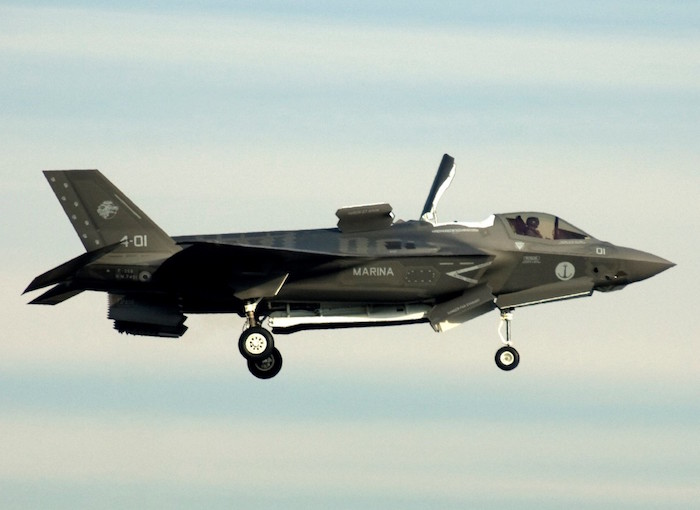 Italian Navy Lockheed Martin F-35B Stealth Multirole Fighter