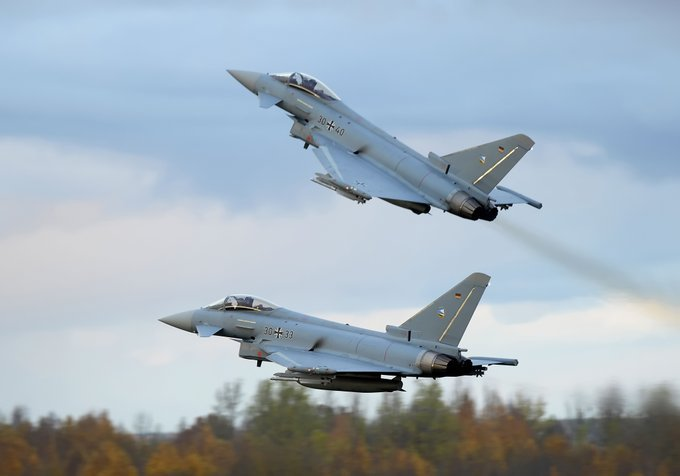 Airbus to Integrate ESCAN Radars in German and Spanish Eurofighter Typhoons