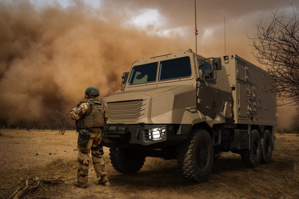 Arquus Launches ARMIS Military Truck Range