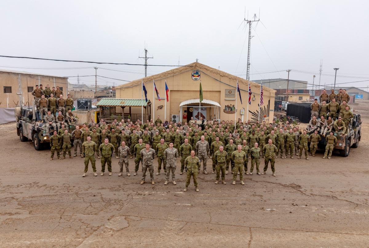 Australian Defence Force Task Group Taji Operation a Success