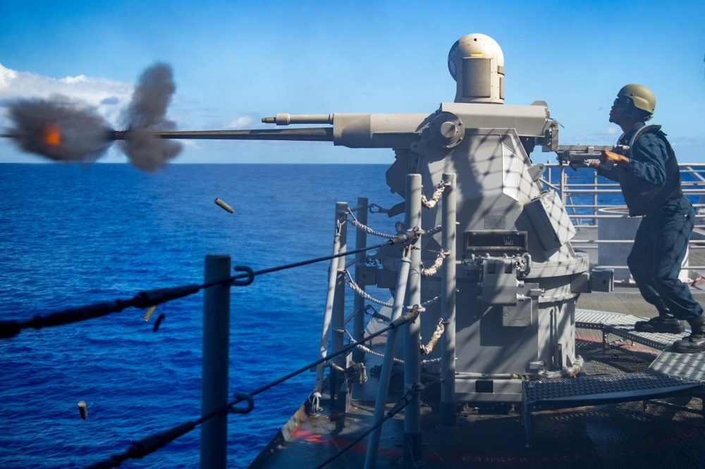 BAE Systems Awards MK 38 MOD 3 Machine Gun System (MGS) for US Navy