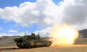 China's Type 15 Light Tanks Join Exercises in High-Altitude Border