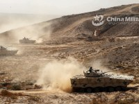 Chinese People's Liberation Army Conducts Night Infiltration Exercise in Tibet