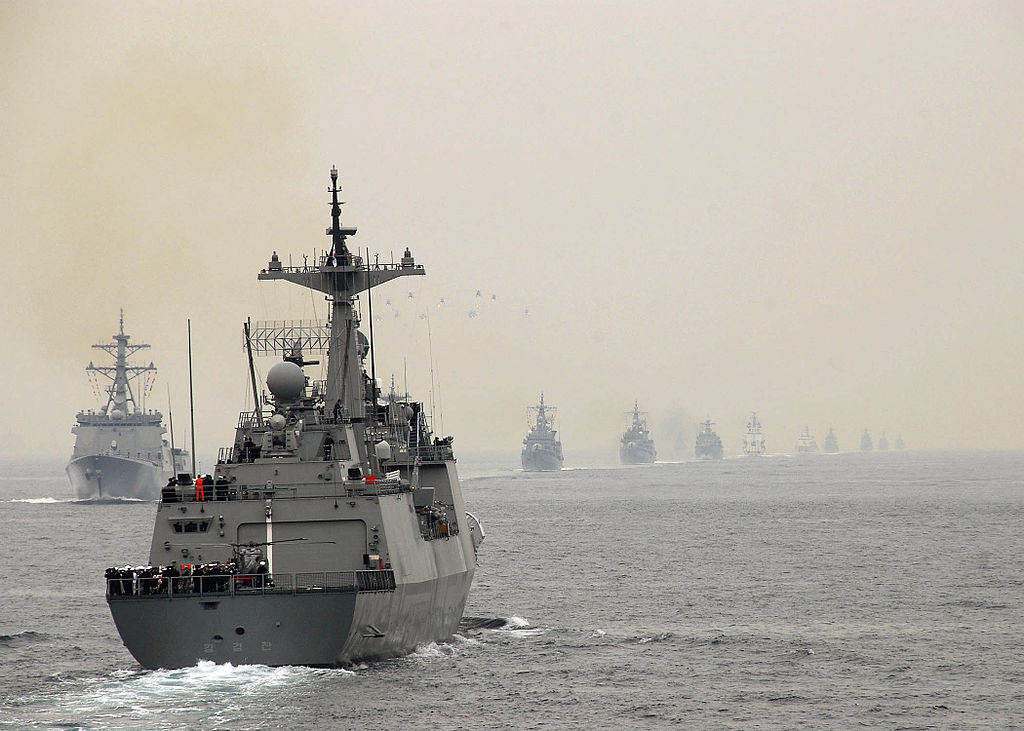 Republic of Korea Navy  ROKS Kang Gamchan (DDH-979) Multipurpose Destroyer