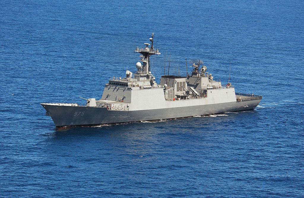 Republic of Korea Navy ROKS Chungmugong Yi Sun-sin (DDH-975) Multipurpose Destroyer