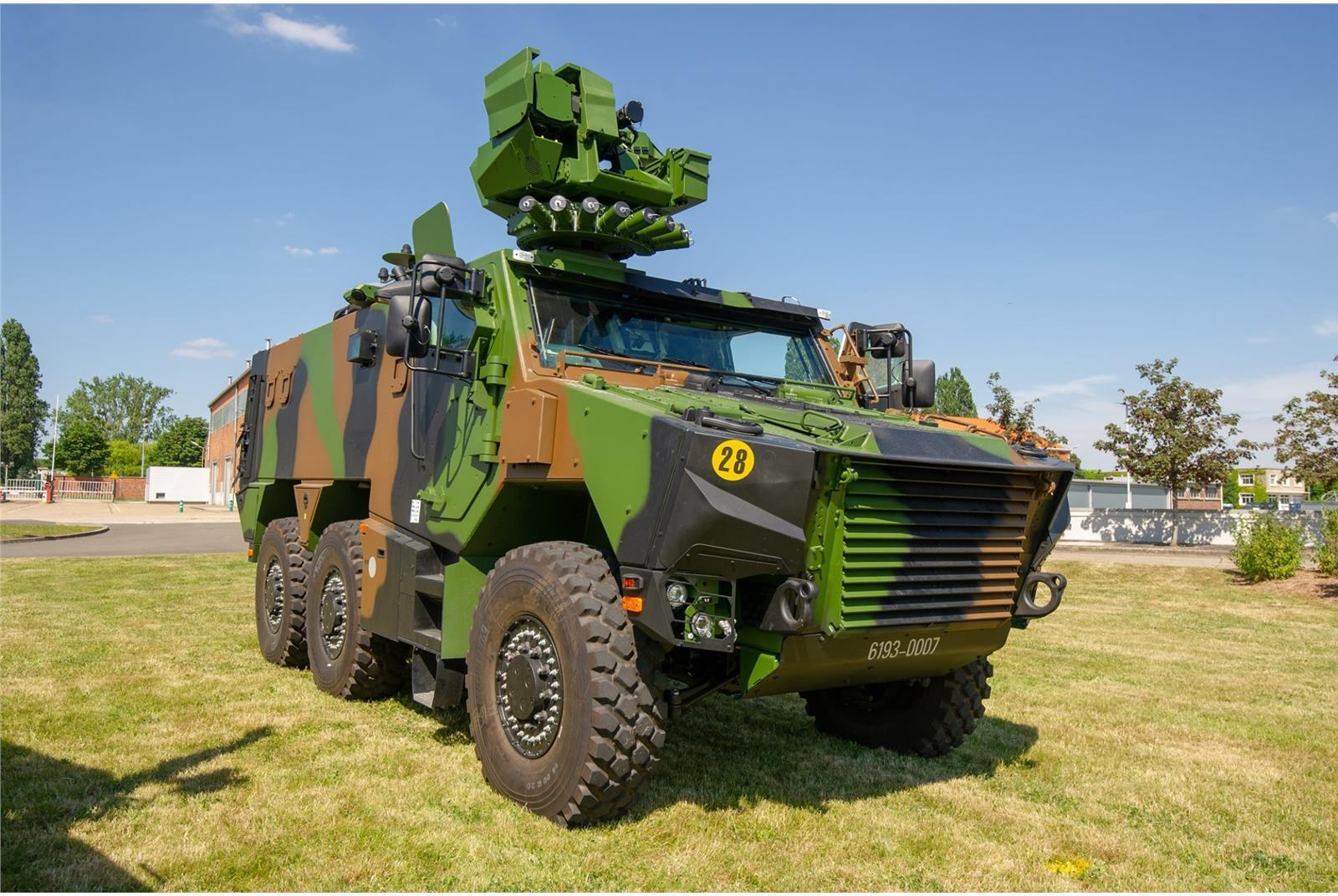 French Army VBMR Griffon Multi-Role Armored Vehicle