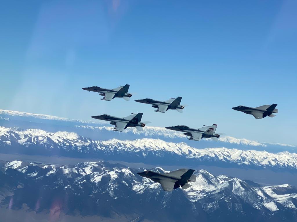 First F-35C Lightning II Class Graduates US Navy TOPGUN