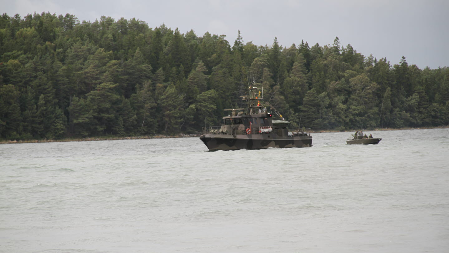 Swedish Navy Tapper-class patrol boat