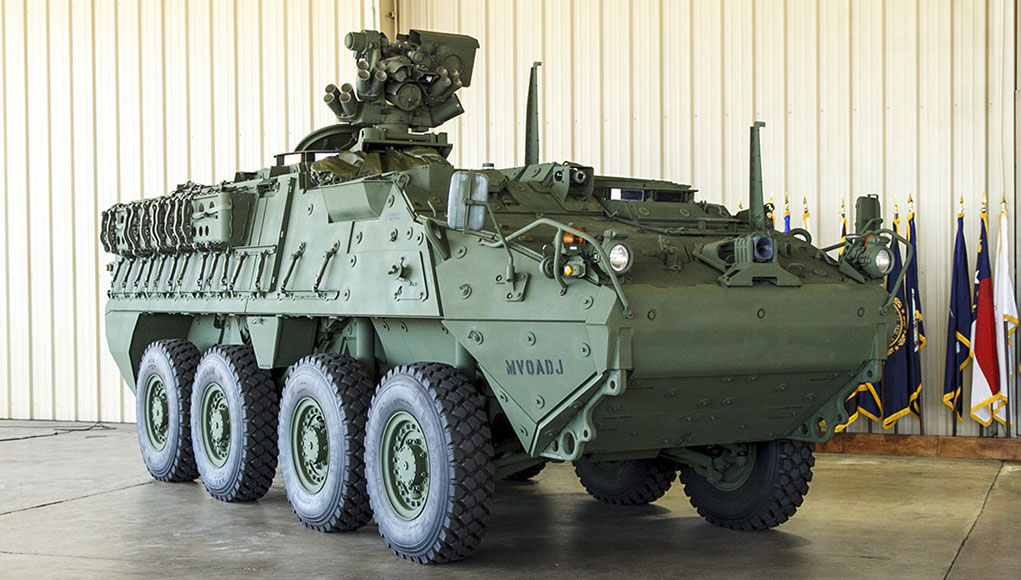 Stryker Double-V Hull Vehicle AI (DVH A1)