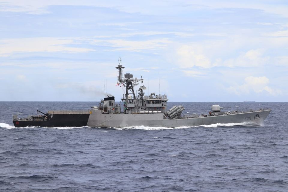 India, Indonesia Joint Naval Exercise IND-INDO ​​Coordinated Patrol