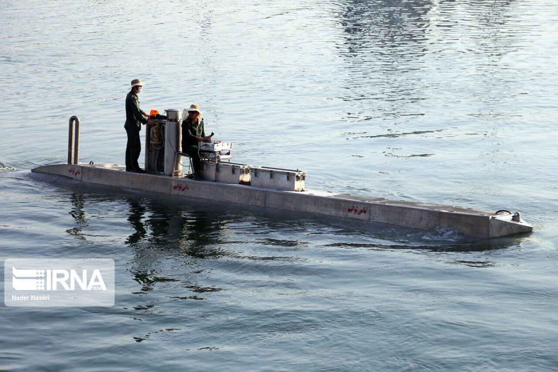 Iranian Navy Receives Unidentified Submersible Vehicles