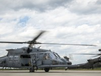 Jolly Green II and Apache Fly Together in Joint Test