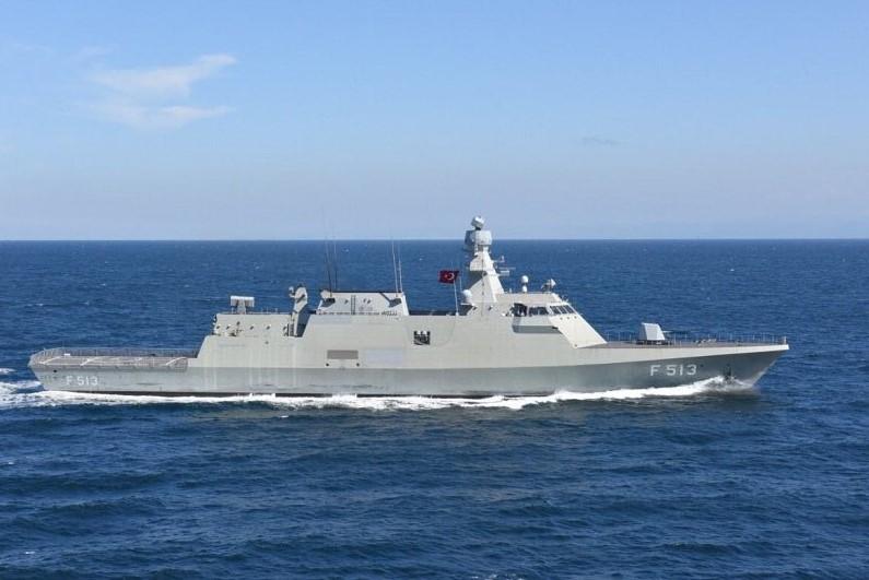 TCG Burgazada (F-513) Ada-class ASW corvettes