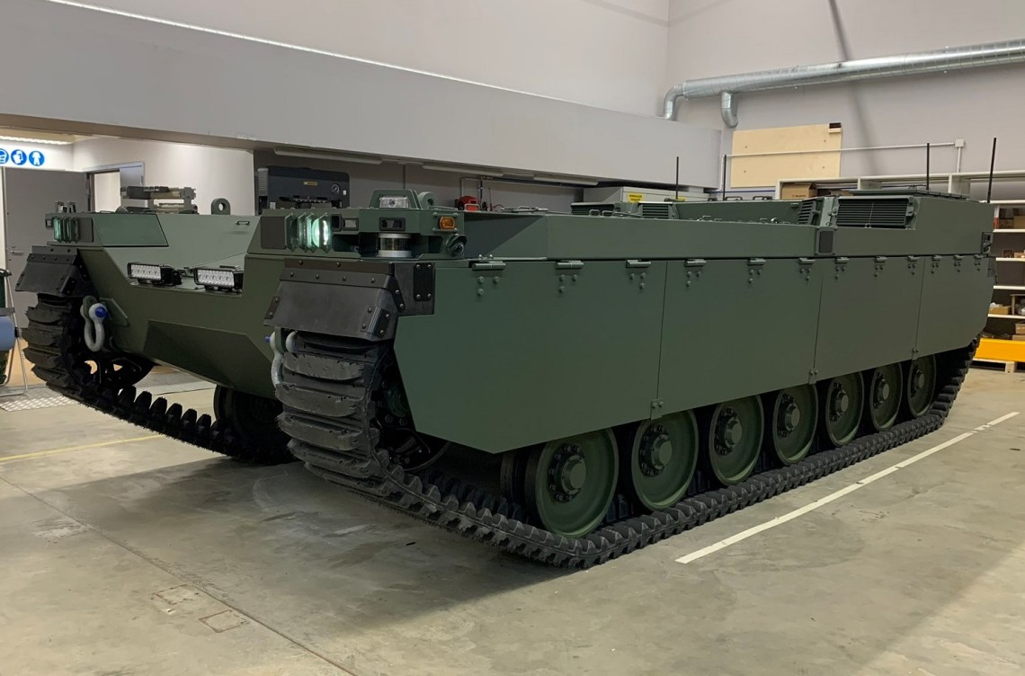 Milrem Robotics Type-X Unmanned Mobile Modular Multi-Mission Armored Vehicle