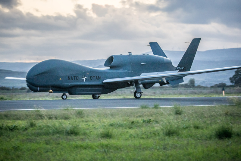 NATO Northrop Grumman RQ-4D Alliance Ground Surveillance (AGS)