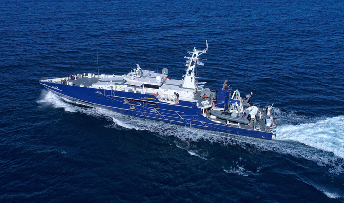The Austal Cape class is a large patrol boats operated by the Marine Unit of the Royal Australian Navy.