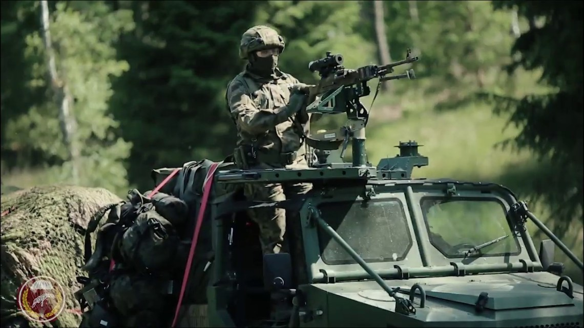 Polish Army 6th Airborne Brigade Aero 4x4
