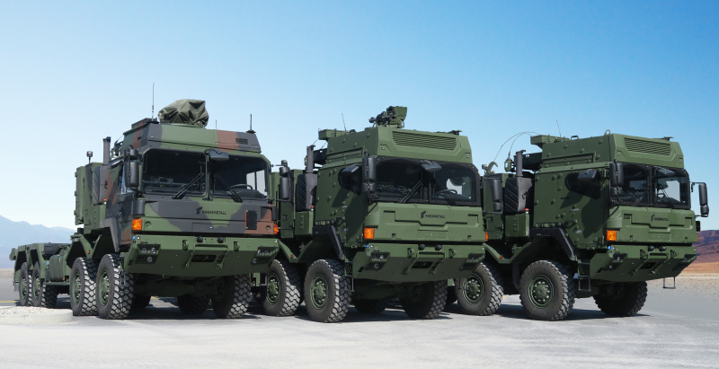 Rheinmetall Wins €2 Billion MAN Military Vehicles Order from German Armed Forces