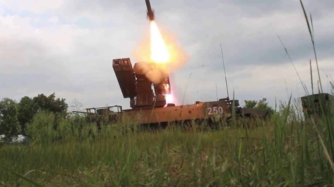 Russia Southern Military District Unveils Modernized Strela-10 Air Defense System