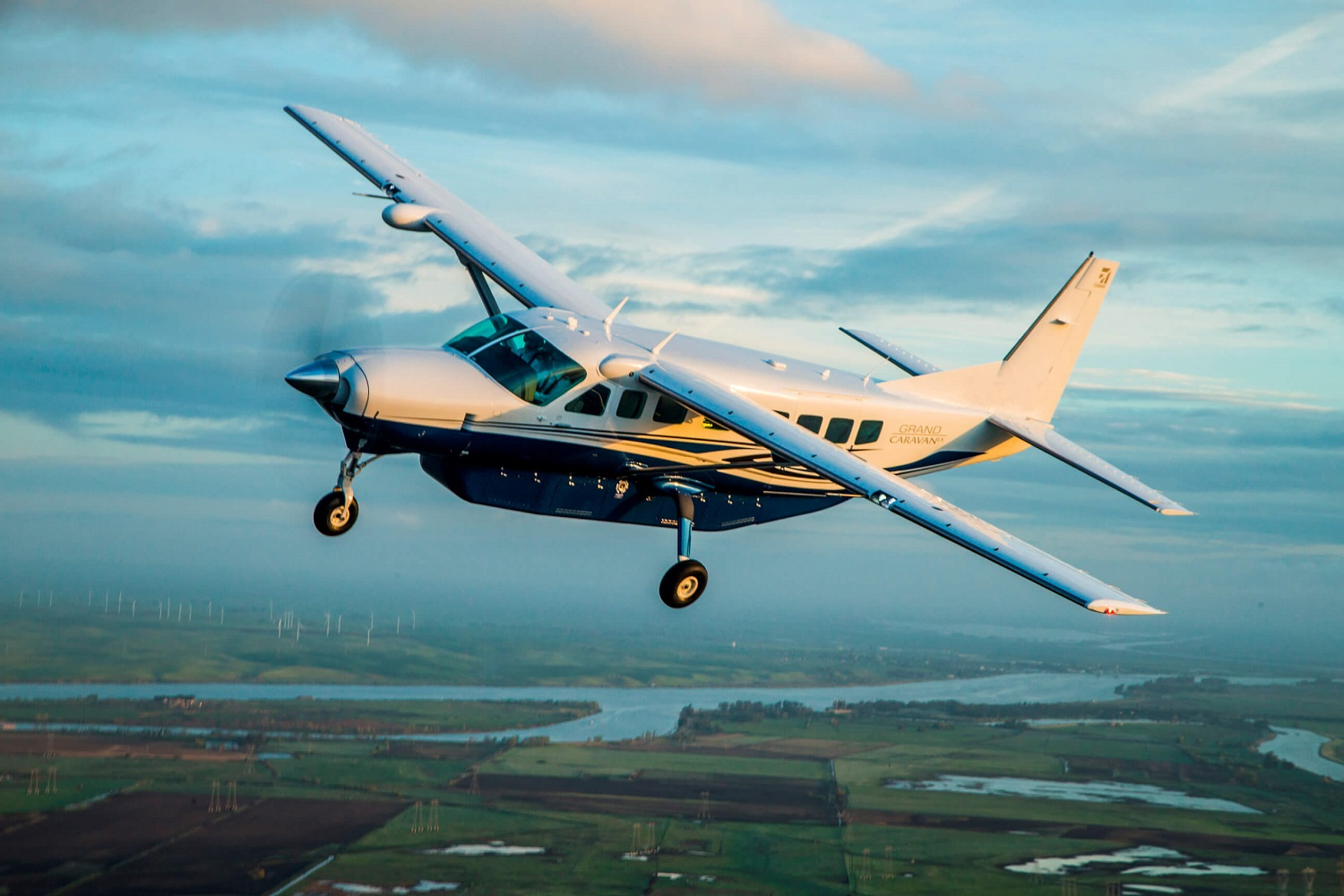 Rwandan Air Force Acquires Textron C-208 EX Aircraft