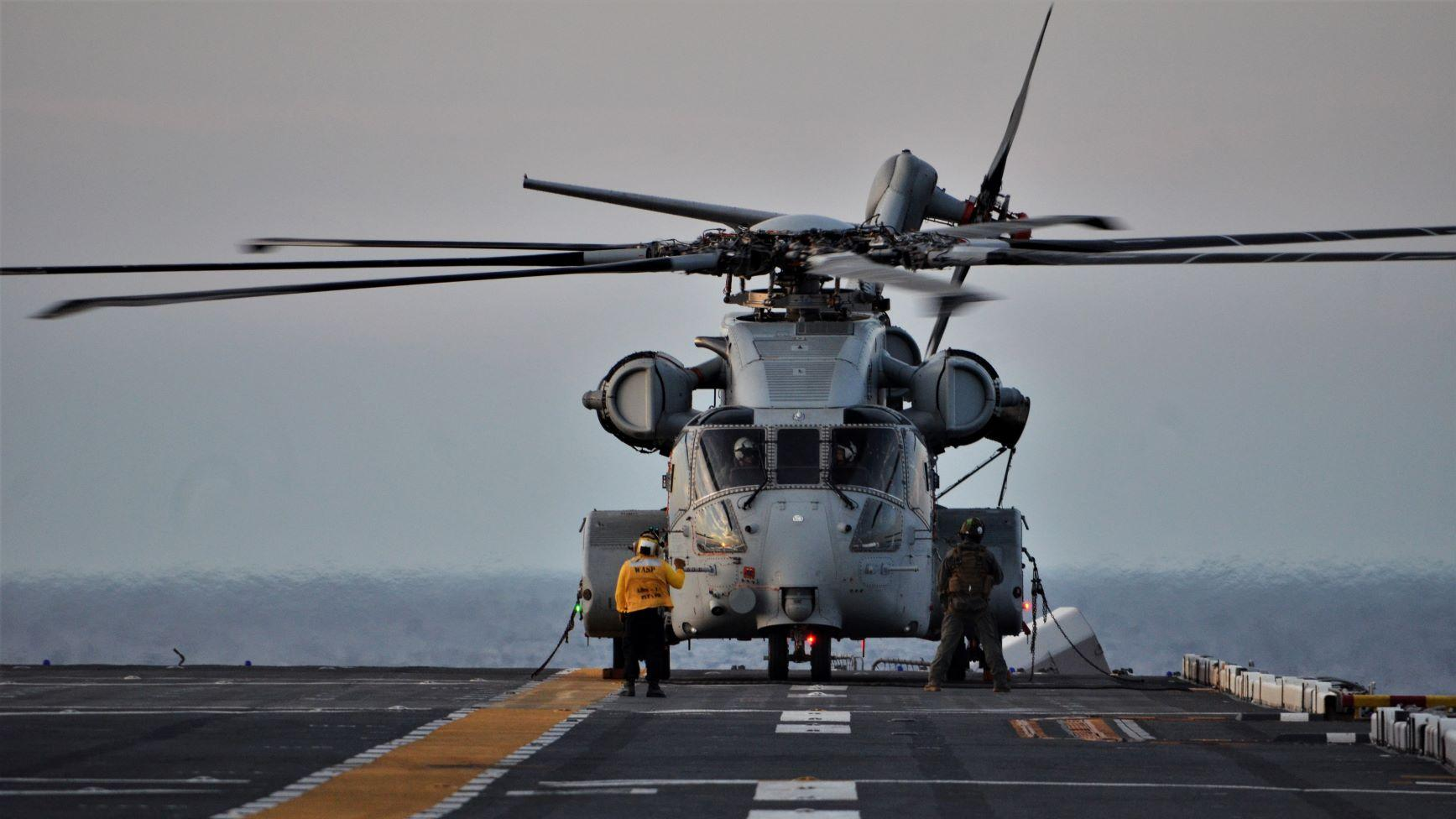 Sikorsky CH-53K King Stallion Helicopter Completes Initial Sea Trials