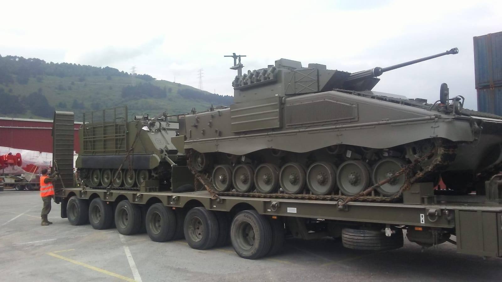 Spanish Army Deploys Ascod Pizarro to Latvia