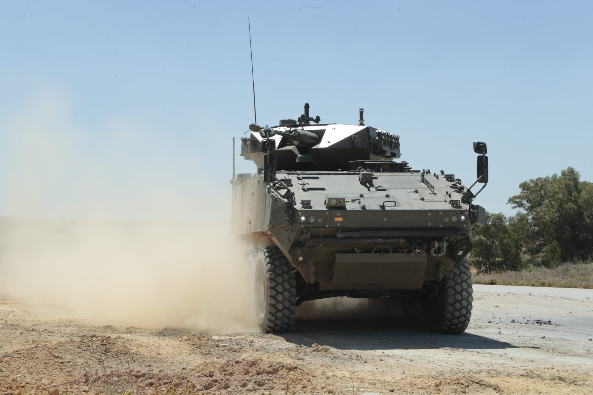 Spanish Army VCR 8x8 Wheeled Combat Vehicles Demonstrator Program