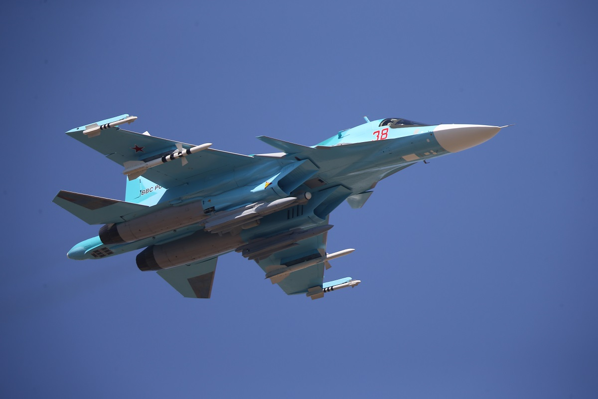 UAC Awarded Contract to Begin Production of 76 Su-34 for Russian Defense Ministry