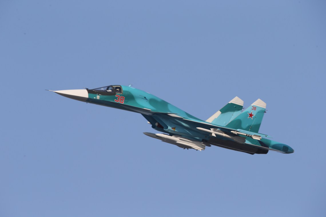 Sukhoi Su-34 fighter-bomber/strike aircraft