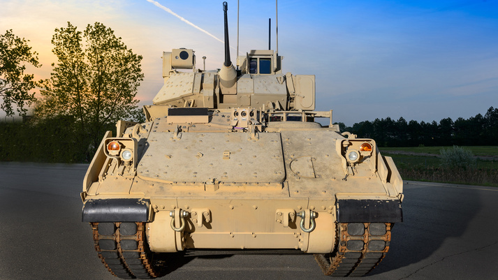 US Army Extends BAE Systems Contract for Bradley M2A4 Fighting Vehicle Upgrades