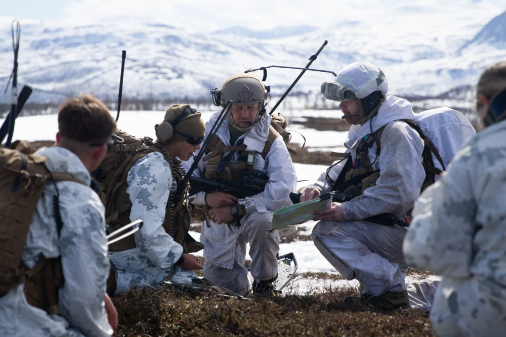 US Marines Successfully Integrate with Norwegian Armed Forces