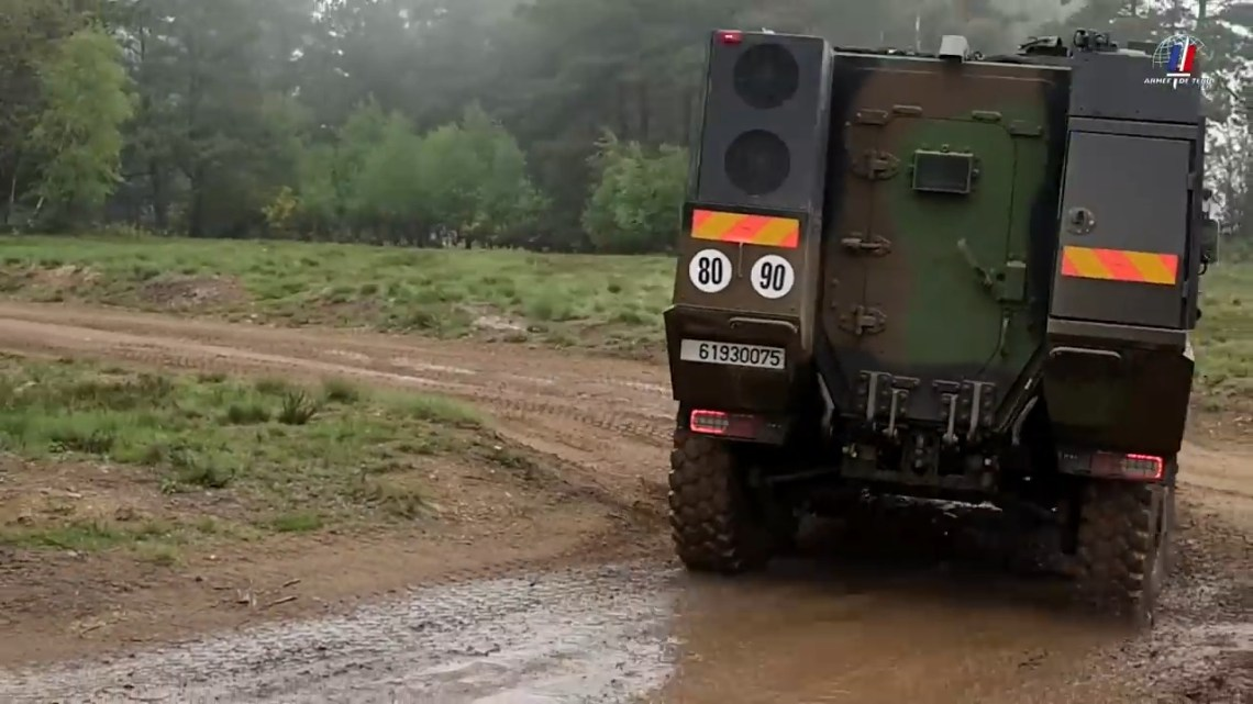 VBMR Griffon Armoured Personnel Carrier