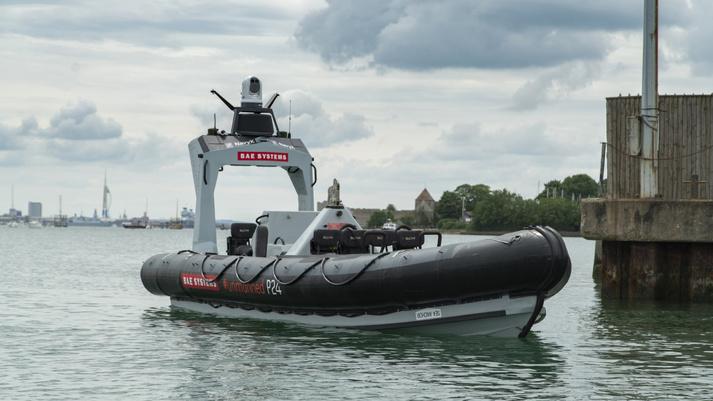 BAE Systems and Royal Navy Provide Autonomous Sea Boats