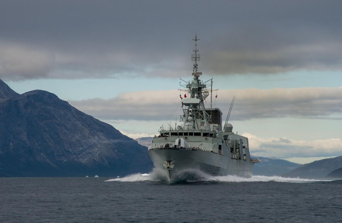 Royal Canadian Navy Halifax-class Frigate